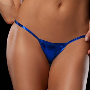 metallic sexy mini g-string Hot Avenue