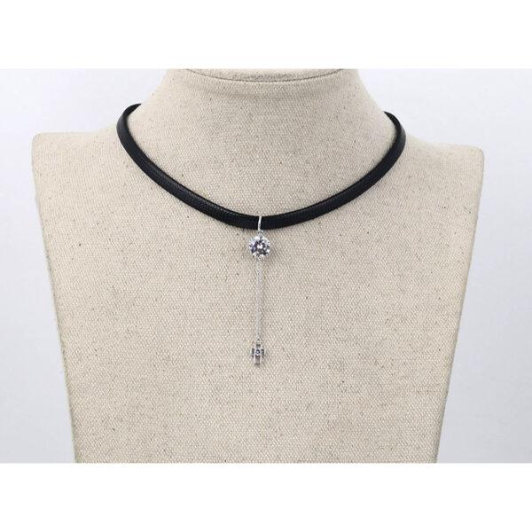 Choker Necklace - Kaulanauha kaulakoru 00130 - Hot Avenue shop pic5