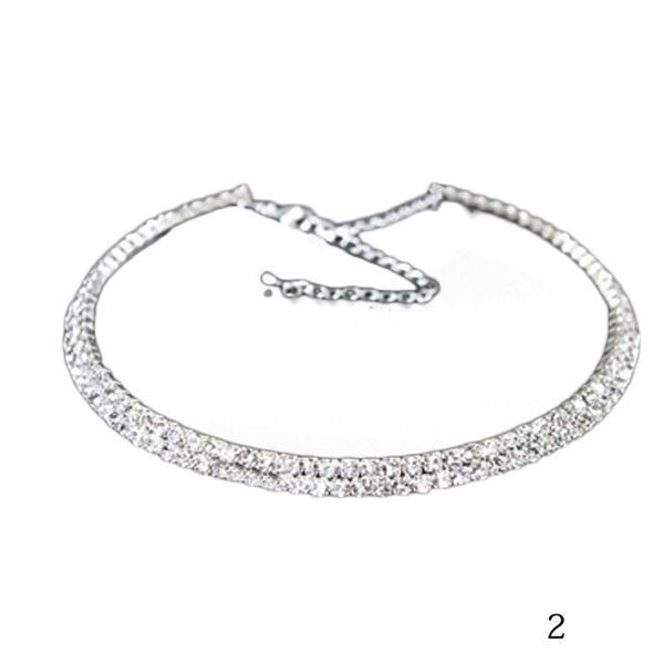 Kristallikaulakoru kapea - Crystal Necklace Narrow - Hot Avenue shop