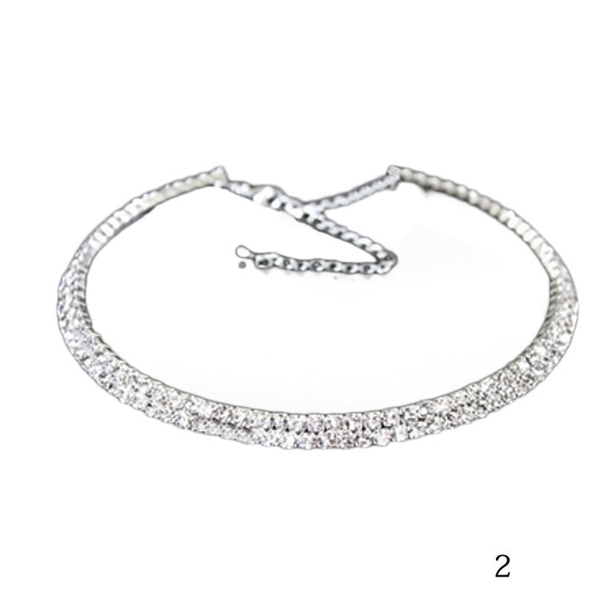 Kristallikaulakoru kapea - Crystal Necklace Narrow - Hot Avenue shop