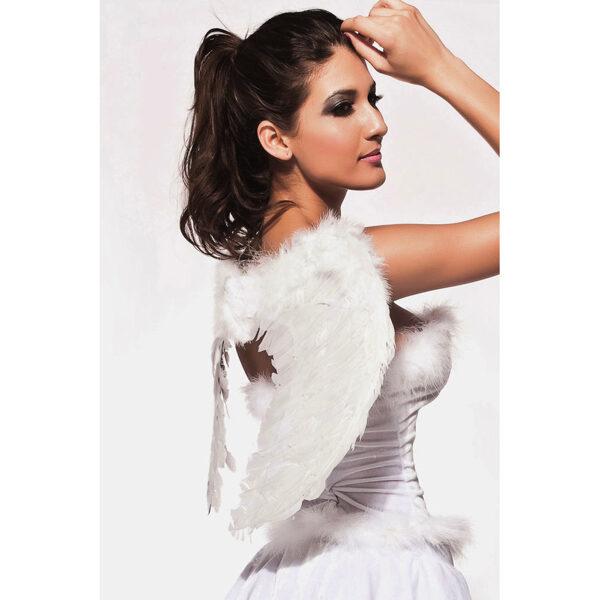 Valkoiset enkelin siivet - Angel Wings side picture - Hot Avenue shop