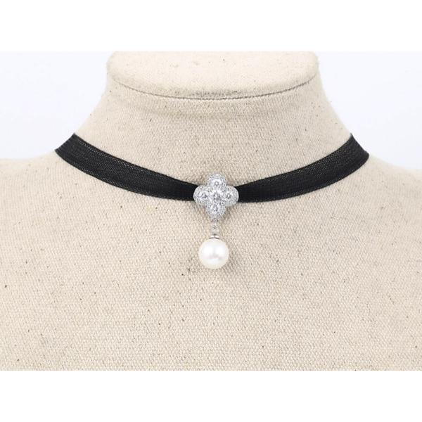 Kaulanauha Kaulakoru Helmi - Choker Necklace Pearl pic4 - Hot Avenue shop