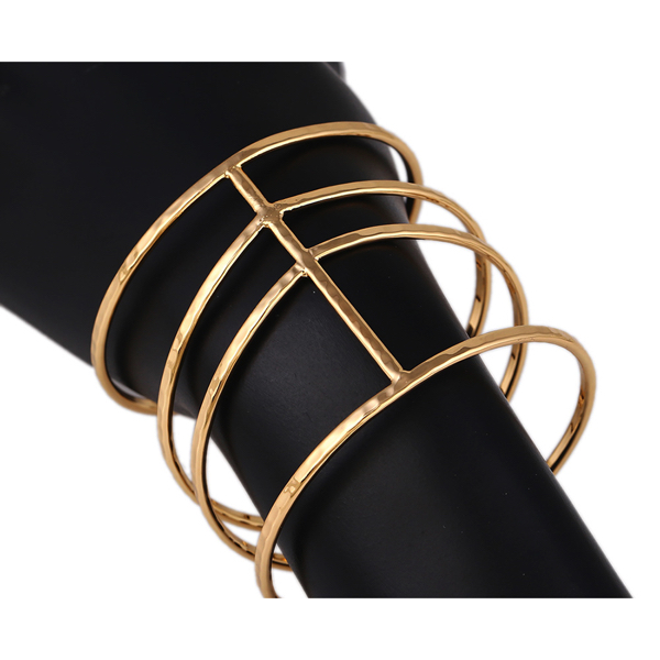 Muodikas Rannerengas Kultainen - Fashion Bangle Gold pic 4 - Hot Avenue Shop